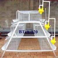 2015 Better Factory New Design chicken layer cages for Nigeria poultry Farm