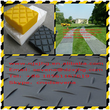 HDPE plastic temporary ground construction road/track mat