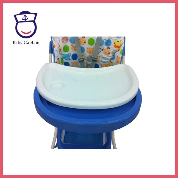 EN14988 Approuvé enfants chaise haute pour bébé d'alimentation/Enfants chaise pliante