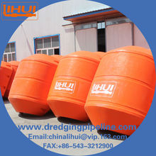 Plastic Products Factory HDPE Dredge Pipe Float / Marine Float Sizes in China