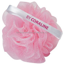 cheap pink bath sponge loofah for shower