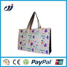 New design reusable waterproof 100% virgin pp woven bag