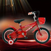 Red colour four wheel children bike 12'' Bicycle/Cheap carbon Kid bike,High end kids 4 wheel bike