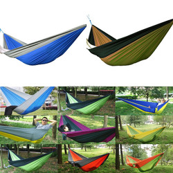 2015 Trade Assurance Camping Hammock, Portable Parachute Hammock tent for outdoor