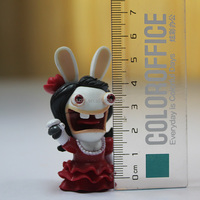 Cartoon Toy Style and PVC,Plastic Material plastic fantasy figures