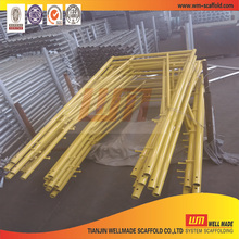 Manufactured Frame Scaffolding System for Construction