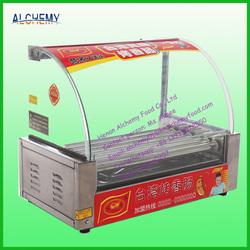 snack machine hot dog/meat ball/meatloaf/sausage grill warmer machine