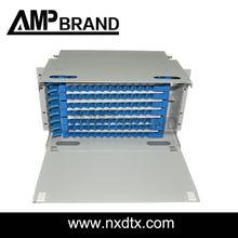 AMPbrand fiber optical odf 4 port fiber patch panel