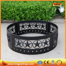 HIGH QUALITY !!! Four Star Camp Steel Fire Ring
