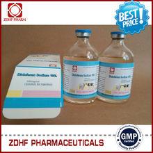 Animal grande pain release y antifever 10% diclofenac sodio inyección