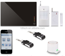 Multi-Languages & Functions Security Alarm System With CE/RoHS Approval & SMS prompt