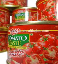 100% Natural tomato paste/canned tomato paste factory price