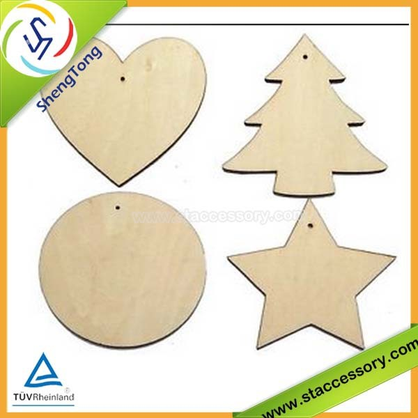 wholesale unfinished wood crafts wooden craft shapes small