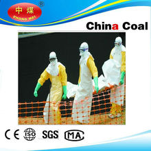 China coal group ebola chemical suits , light duty chemical protective suit,chemical safety suit