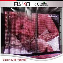 led curtain/flexible led screen/soft led displays