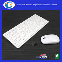 2.4GHz Optical Wireless Cordless Keyboard And Mouse For Laptop PC