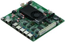 DC 12V D2550 Netwrok Server Mainboard with 4 LAN Port