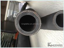 high quality black conductive NR rubber concrete pump hose pipe