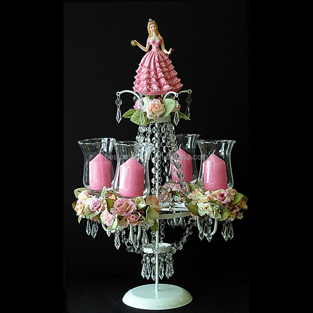 Table top chandelier centerpieces for weddings buy