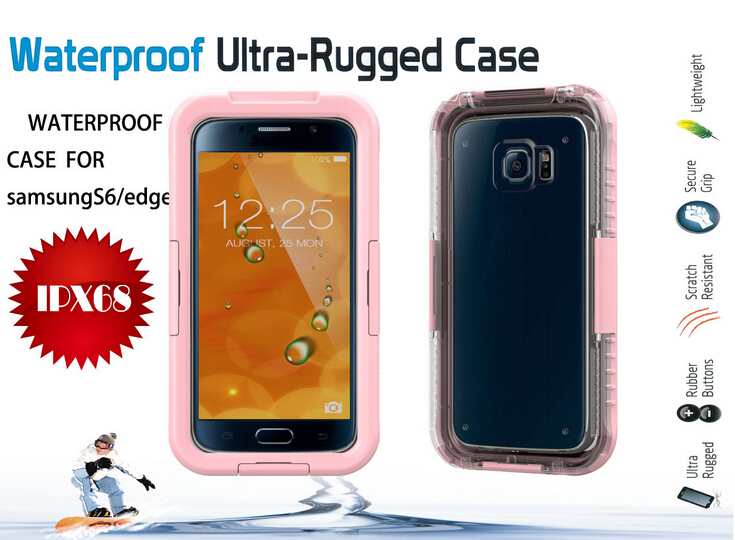 Edge Waterproof Case Samsung Galaxy S6