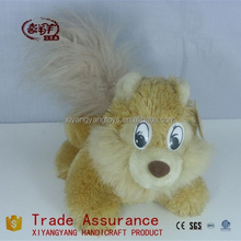 Cute and cheap soft squirrel toy & plush squirrel & stuffed squirrels