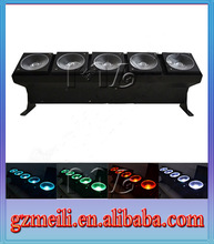 New design product 5 eyes stage effect light/rgbw led stage lighting