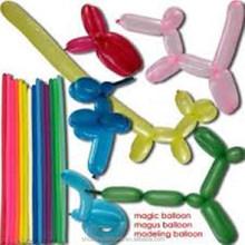 magic diy printing balloon/ pressure rubber balloon