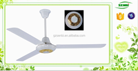 2015 market new design 350RPM decorate fan with light dc 12v 56inch chinese ceiling fans cooling