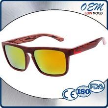 2015 Hot Selling Custom Logo Printed Eco-Friendly Sunglasses Lots Wholesale