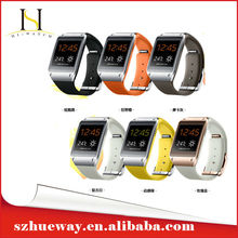 New Arrival Android Smart Watch 2014 with GPS Watch Phone Android 4.4 wifi Bluetooth Smartwatch for apple Iphone5S(HW-007S)