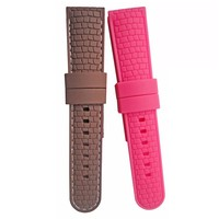silicone rubber wrist watch strap/Wristbands