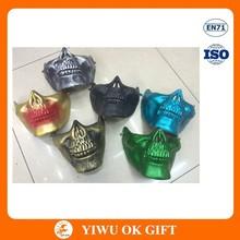 Colourful plastic devil/ demon mask for sale