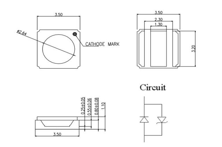 Germicidal UVC LED 265nm 280nm 310nm Deep UV LED