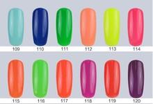 Free Sample China supplier nail gel polish, color SLK-02-047 ,uv led easy soak off and apply nail polish 10ml