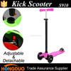 Foot kick push scooter