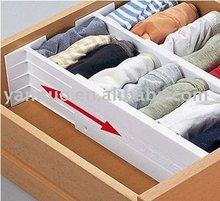 adjustable drawer organizer,drawer dividers,Plastic drawer dividers