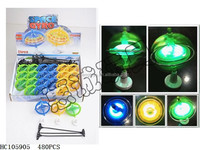 new hot sold flashing spinning top with light