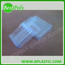 Clear Plastic Box, Customize Clear Plastic Packaging Box, Clear Folding Box