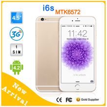 POLOBANDS Unlocked IPS Display 4.5 inch Original i6 Phone 6 Mobile Phone