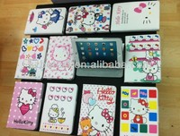 hello kitty book style leather Wallet flip hello kitty case ,Cartoon Cute Hello Kitty Stand Pu Leather Case for new ipad mini