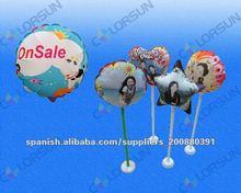 Foto globos personalizados medidas de 18cm