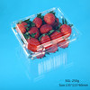 2015 Clear Fruit Plastic Box Supermarket Fruit Packaging Container