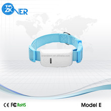 Model E gsm gps pet tracker options for 6 color dog collar gps pet tracker for cats