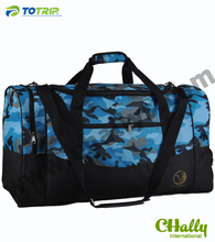Dourable polyster quality army duffle bag