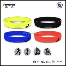 Hot multi-function running waist bag anti-theft money & waterproof waist belt bag