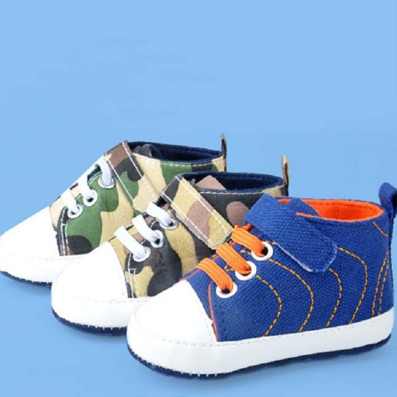 Tsw3227 0 1 Years Old Infant Canvas Shoes Fashion Soft