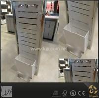 Metal accessories display rack,professional apparel shop designers