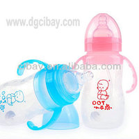 top safety baby nursing bottle with handle