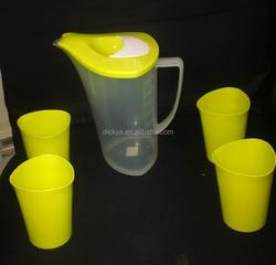 Promotional bpa free colorful plastic water jug