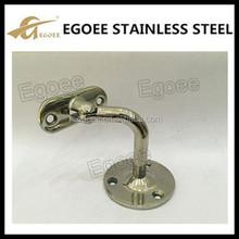Egoee 304 316 Reasonable Price Stainless Steel Round Wall Bracket Handrail Support